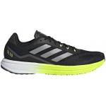 Adidas SL20.2 Mens Running Shoe - Core Black/Core Black/Solar Yellow