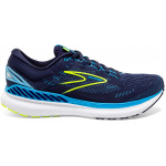 Brooks Glycerin GTS 19 D Mens Running Shoe - NAVY/BLUE/NIGHTLIFE Brooks Glycerin GTS 19 D Mens Running Shoe - NAVY/BLUE/NIGHTLIFE