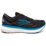 Brooks Glycerin 19 D Mens Running Shoe - Black/Blue/Orange Brooks Glycerin 19 D Mens Running Shoe - Black/Blue/Orange