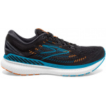 Brooks Glycerin GTS 19 D Mens Running Shoe - Black/Blue/Orange Brooks Glycerin GTS 19 D Mens Running Shoe - Black/Blue/Orange