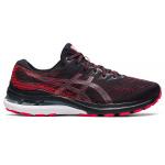 ASICS GEL-Kayano 28 Mens Running Shoe - Black/Electric Red ASICS GEL-Kayano 28 Mens Running Shoe - Black/Electric Red