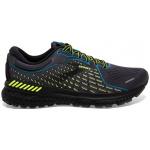 Brooks Adrenaline GTS 21 D Mens Running Shoe - Black/Blue/Nightlife Brooks Adrenaline GTS 21 D Mens Running Shoe - Black/Blue/Nightlife