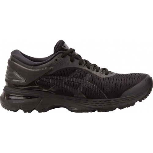 ASICS GEL-KAYANO 25 WOMEN'S RUNNING SHOE - BLACK/BLACK @ Sportsmart | Tuggl