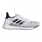 Adidas Solar Glide Women's Running Shoe - Ftwr White/Core Black/GREY THREE Adidas Solar Glide Women's Running Shoe - Ftwr White/Core Black/GREY THREE