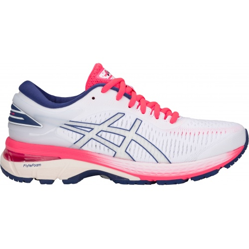 90a0f7740b4 Asics GEL-Kayano 25 D WIDE Women s Running Shoe - White White ...