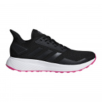Adidas Duramo 9 Women's Running Shoe - Core Black/Core Black/Shock Pink Adidas Duramo 9 Women's Running Shoe - Core Black/Core Black/Shock Pink