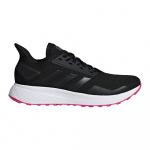 Adidas Duramo 9 Women's Running Shoe - Core Black/Core Black/Shock Pink Adidas Duramo 9 Women's Running Shoe - Core Black/Core Black/Shock Pink