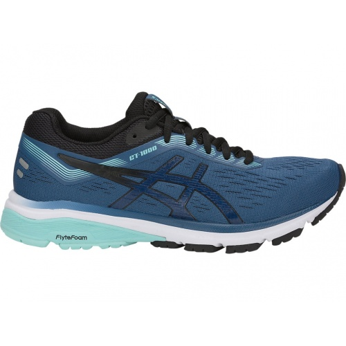 04bed241f40 Asics GT-1000 7 D WIDE Women s Running Shoe - GRAND SHARK BLACK ...