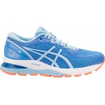 ASICS GEL-Nimbus 21 Women's Running Shoe - Blue Coast/Skylight - JAN 19 ASICS GEL-Nimbus 21 Women's Running Shoe