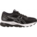 ASICS GEL-Nimbus 21 Women's Running Shoe - Black/Dark Grey ASICS GEL-Nimbus 21 Women's Running Shoe - Black/Dark Grey