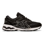ASICS GEL-KAYANO 26 D WIDE Women's Running Shoe - Black/White ASICS GEL-KAYANO 26 D WIDE Women's Running Shoe - Black/White