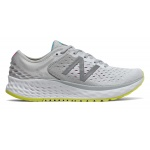 New Balance 1080v9 D WIDE Women's Running Shoe - Light Aluminum/Sulphur Yellow New Balance 1080v9 D WIDE Women's Running Shoe - Light Aluminum/Sulphur Yellow