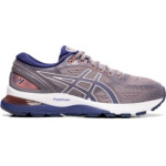 ASICS GEL-Nimbus 21 Women's Running Shoe - Lavender Grey/Dive Blue ASICS GEL-Nimbus 21 Women's Running Shoe - Lavender Grey/Dive Blue