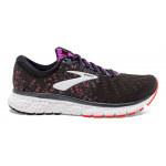 Brooks Glycerin 17 D WIDE Women's Running Shoe - BLACK/FIERY CORAL/PURPLE Brooks Glycerin 17 D WIDE Women's Running Shoe - BLACK/FIERY CORAL/PURPLE