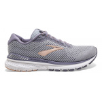 Brooks Adrenaline GTS 20 D WIDE Women's Running Shoe - GREY/PALE PEACH/WHITE Brooks Adrenaline GTS 20 D WIDE Women's Running Shoe - GREY/PALE PEACH/WHITE