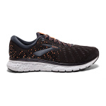 Brooks Glycerin 17 B Women's Running Shoe - BLACK/EBONY/CANTALOUPE Brooks Glycerin 17 B Women's Running Shoe - BLACK/EBONY/CANTALOUPE