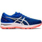 ASICS GEL-Nimbus 22 Men's Running Shoe - Tuna Blue/Pure Silver ASICS GEL-Nimbus 22 Men's Running Shoe - Tuna Blue/Pure Silver
