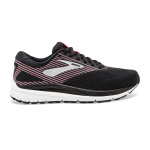 Brooks Addiction 14 D WIDE Women's Running Shoe - BLACK/HOT PINK/SILVER Brooks Addiction 14 D WIDE Women's Running Shoe - BLACK/HOT PINK/SILVER