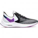Nike Air Zoom Winflo 6 Womens Running Shoe - BLACK/VIVID PURPLE-PHOTON DUST Nike Air Zoom Winflo 6 Womens Running Shoe - BLACK/VIVID PURPLE-PHOTON DUST