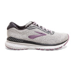 Brooks Adrenaline GTS 20 D WIDE Womens Running Shoe - INJ GREY/WHITE/VALERIAN Brooks Adrenaline GTS 20 D WIDE Womens Running Shoe - INJ GREY/WHITE/VALERIAN