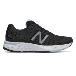 New Balance 680v6 LK D WIDE Womens Running Shoe - Black/Air New Balance 680v6 LK D WIDE Womens Running Shoe - Black/Air
