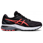 ASICS GT-2000 8 D WIDE Womens Running Shoe - Black/Sunrise Red ASICS GT-2000 8 D WIDE Womens Running Shoe - Black/Sunrise Red