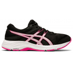 ASICS GEL-Contend 6 D WIDE Women's Running Shoe - BLACK/PINK GLO ASICS GEL-Contend 6 D WIDE Women's Running Shoe - BLACK/PINK GLO