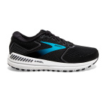 Brooks Ariel 20 D WIDE Womens Running Shoe - Black/Ebony/Blue Brooks Ariel 20 D WIDE Womens Running Shoe - Black/Ebony/Blue