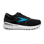 Brooks Ariel 20 D WIDE Womens Running Shoe - Black/Ebony/Blue Brooks Ariel 20 D WIDE Womens Running Shoe - Black/Ebony/Blue