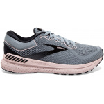 Brooks Transcend 7 B Womens Running Shoe - GREY/BLACK/VIOLET Brooks Transcend 7 B Womens Running Shoe - GREY/BLACK/VIOLET