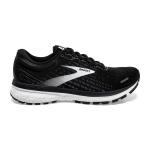 Brooks Ghost 13 B Womens Running Shoe - Black/White Brooks Ghost 13 B Womens Running Shoe - Black/White