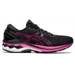 ASICS GEL-Kayano 27 Womens Running Shoe - Black/Pink Glo ASICS GEL-Kayano 27 Womens Running Shoe - Black/Pink Glo