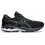 ASICS GEL-Kayano 27 D Womens Running Shoe - Black/Pure Silver ASICS GEL-Kayano 27 D Womens Running Shoe - Black/Pure Silver