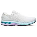 ASICS GEL-Kayano 27 Womens Running Shoe - WHITE/PURE SILVER ASICS GEL-Kayano 27 Womens Running Shoe - WHITE/PURE SILVER