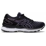 ASICS GEL-Nimbus 22 Womens Running Shoe - Black/Lilac Tech ASICS GEL-Nimbus 22 Womens Running Shoe - Black/Lilac Tech