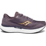 Saucony Triumph 18 B Womens Running Shoe - Dusk/Gold Saucony Triumph 18 B Womens Running Shoe