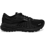 Brooks Adrenaline GTS 21 B Womens Running Shoe - Black/Black/Ebony Brooks Adrenaline GTS 21 B Womens Running Shoe - Black/Black/Ebony