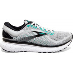 Brooks Glycerin 18 B Womens Running Shoe - Grey/Black/Atlantis Brooks Glycerin 18 B Womens Running Shoe - Grey/Black/Atlantis