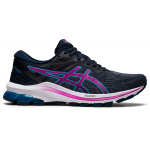 ASICS GT-1000 10 D WIDE Womens Running Shoe - French Blue/Digital Grape ASICS GT-1000 10 D WIDE Womens Running Shoe - French Blue/Digital Grape