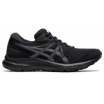 ASICS Contend 7 Womens Running Shoe - Black/Carrier Grey ASICS Contend 7 Womens Running Shoe - Black/Carrier Grey