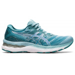 ASICS GEL-Nimbus 23 Womens Running Shoe - Smoke Blue/Pure Silver ASICS GEL-Nimbus 23 Womens Running Shoe - Smoke Blue/Pure Silver
