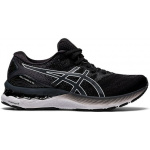 ASICS GEL-Nimbus 23 D WIDE Womens Running Shoe - Black/White ASICS GEL-Nimbus 23 D WIDE Womens Running Shoe - Black/White
