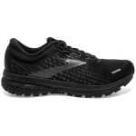 Brooks Ghost 13 B Womens Running Shoe - Black/Black Brooks Ghost 13 B Womens Running Shoe - Black/Black