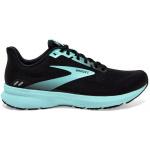 Brooks Launch 8 B Womens Running Shoe - Black/Ebony/Blue Brooks Launch 8 B Womens Running Shoe - Black/Ebony/Blue