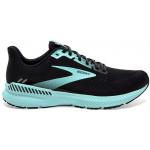 Brooks Launch GTS 8 B Womens Running Shoe - Black/Ebony/Blue Brooks Launch GTS 8 B Womens Running Shoe - Black/Ebony/Blue
