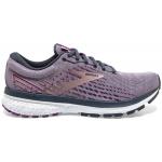 Brooks Ghost 13 B Womens Running Shoe - Lavender/Ombre/Metallic