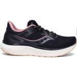 Saucony Hurricane 23 Womens Running Shoe - Black/Rose Water Saucony Hurricane 23 Womens Running Shoe - Black/Rose Water