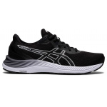 ASICS GEL-Excite 8 D WIDE Womens Running Shoe - Black/White ASICS GEL-Excite 8 D WIDE Womens Running Shoe - Black/White