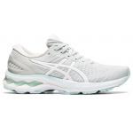ASICS GEL-Kayano 27 Womens Running Shoe - Glacier Grey/White ASICS GEL-Kayano 27 Womens Running Shoe - Glacier Grey/White