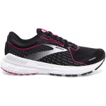 Brooks Adrenaline GTS 21 B Womens Running Shoe - Black/Raspberry/Ebony Brooks Adrenaline GTS 21 B Womens Running Shoe - Black/Raspberry/Ebony
